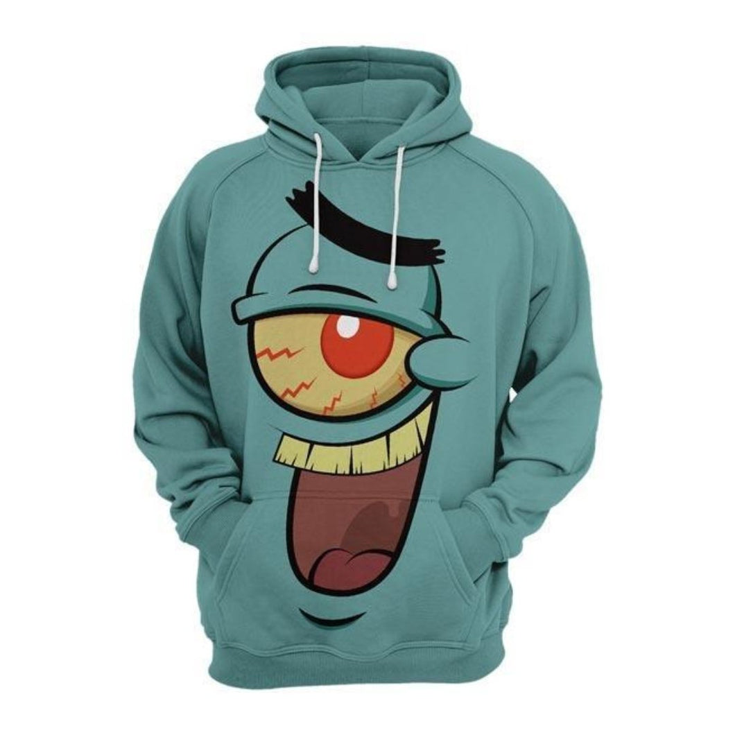Green Expression 3D hoodie - 24 Hour Clearance Sale