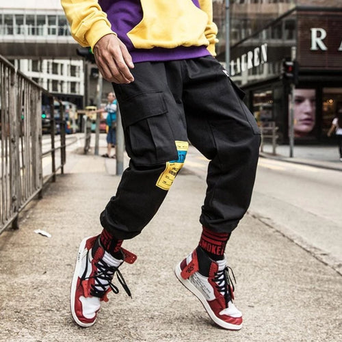 Black Street One Premium Joggers - 100% Cotton Street Wear 24 Hour Clearance Sale