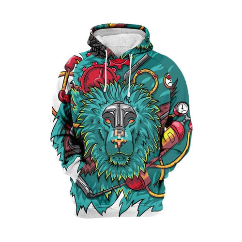 Ape 3D hoodie-  100% Cotton - Street Wear- 24 Hour Clearance Sale