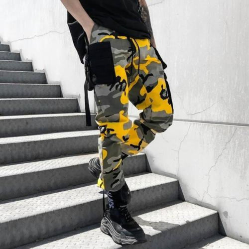 Camouflage Premium Joggers - 100% Cotton Street Wear