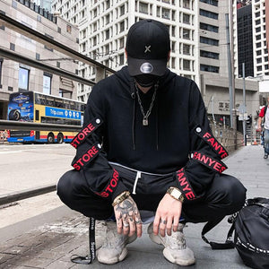 Black Street Hoodie - 24 Hour Clearance Sale