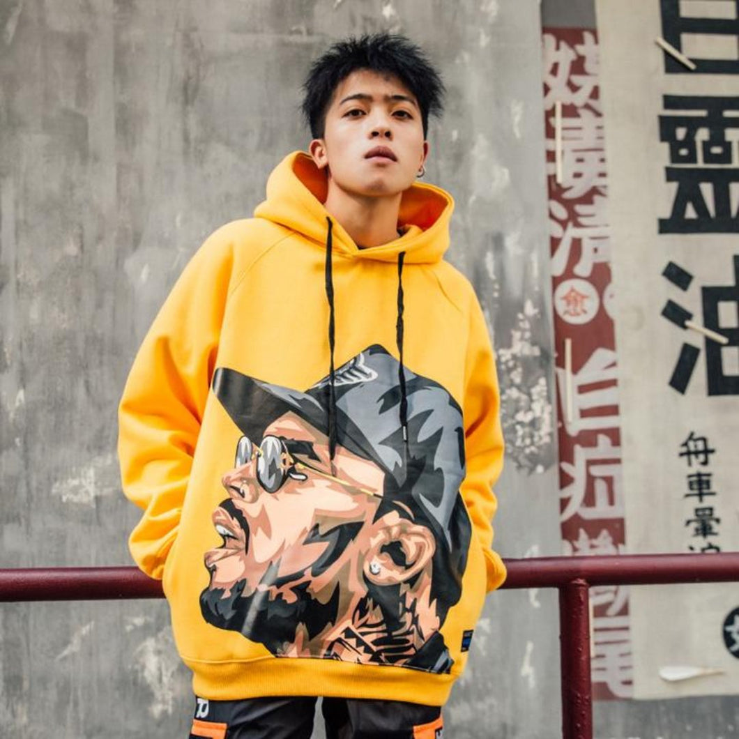 Yellow Digi Hoodie- 24 Hour Clearance Sale