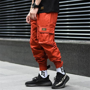 Burnt Orange Cargo -  Street Wear 24 Hour Clearance Sale