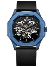 Load image into Gallery viewer, Blue Metallic Automatic Swiss Movement Watch On Ggp Quick Sale