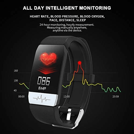 Aero Health Bracelet Heart Rate Blood Pressure Smart Band Fitness Tracker Smartband Wristband Gbp Ggp watch Season End Sale