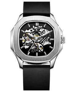 Botus Silver Metallic Automatic Swiss Movement Watch On Ggp Quick Sale