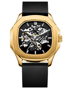 Botus Gold Metallic Automatic Swiss Movement Watch On Ggp Quick Sale