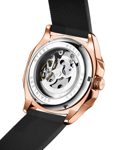 Botus Rose Gold Metallic Automatic Swiss Movement Watch On Ggp Quick Sale