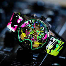 Load image into Gallery viewer, THE CABLE Z automatic chronographic luxury watch Splash colour