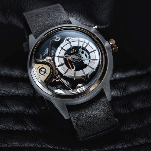 THE MOKAZP automatic chronographic luxury watch carbon