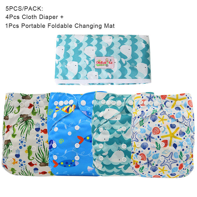 Washable Diaper Value Pack