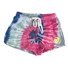 "Load image into Gallery viewer, Buy online high quality The MVMNT - Tie Dye Shorts ""Groove is in the Heart"" (Medium Adult) - The Movement Boutique - Kelowna"