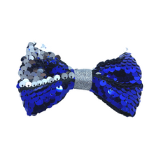 Load image into Gallery viewer, Reversible Sequin Bow