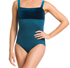 Buy online high quality Ainsliewear Square Neck Leotard with Velvet - The Movement Boutique - Kelowna