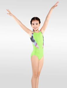 Buy online high quality So Danca Diana Printed Gymnastics Leotard - The Movement Boutique - Kelowna