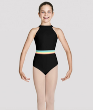 Load image into Gallery viewer, Buy online high quality Bloch Girls High Neckline Halter Leotard - The Movement Boutique - Kelowna