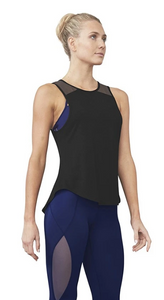 Buy online high quality Bloch Tie Up Mesh Tank - The Movement Boutique - Kelowna