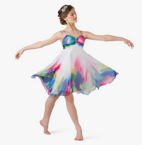 Buy online high quality CONSIGN - Water Colour Lyrical Dress (LC) - The Movement Boutique - Kelowna