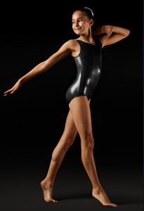 Buy online high quality Leo Foil Sleeveless Gymnastics Leo - The Movement Boutique - Kelowna