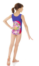 Load image into Gallery viewer, Buy online high quality Mondor Tank Metallic Print Gymnastics Leotard - The Movement Boutique - Kelowna