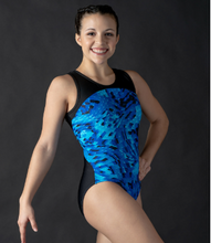 Load image into Gallery viewer, Buy online high quality Motionwear 2 Tone Racer Back Leotard - The Movement Boutique - Kelowna