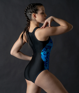 Buy online high quality Motionwear 2 Tone Racer Back Leotard - The Movement Boutique - Kelowna