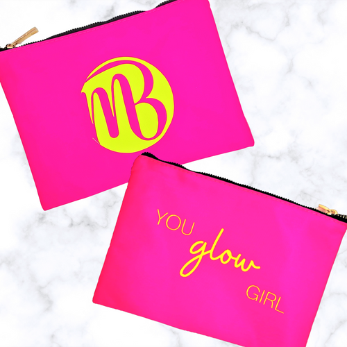 Buy online high quality The MVMNT Neon Make Up Bag - The Movement Boutique - Kelowna
