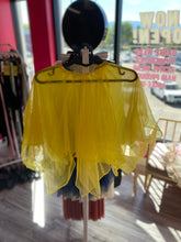 Load image into Gallery viewer, Buy online high quality CONSIGN - Yellow Sequin Leo with Separate Skirt (10C) - The Movement Boutique - Kelowna