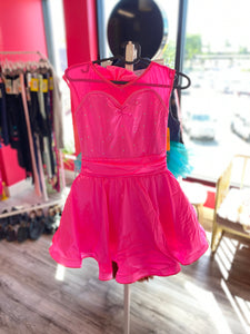 Buy online high quality CONSIGN - Pink Satin Retro Dress (LC) - The Movement Boutique - Kelowna