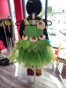 Buy online high quality CONSIGN - Green Tutu with Floral Detail (MC) - The Movement Boutique - Kelowna