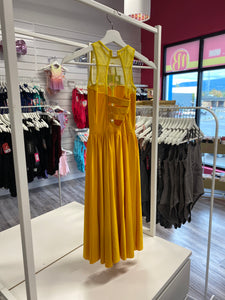 CONSIGN - (LC) Yellow Lyrical Dress