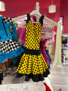 Buy online high quality CONSIGN - Yellow Polkadot Dress (MC) - The Movement Boutique - Kelowna