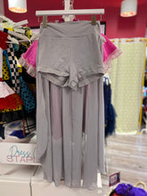 Load image into Gallery viewer, CONSIGN - Grey Asymmetrical Top & Skirt (MA)