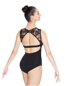Buy online high quality Revolution Lace Inset Leotard - The Movement Boutique - Kelowna