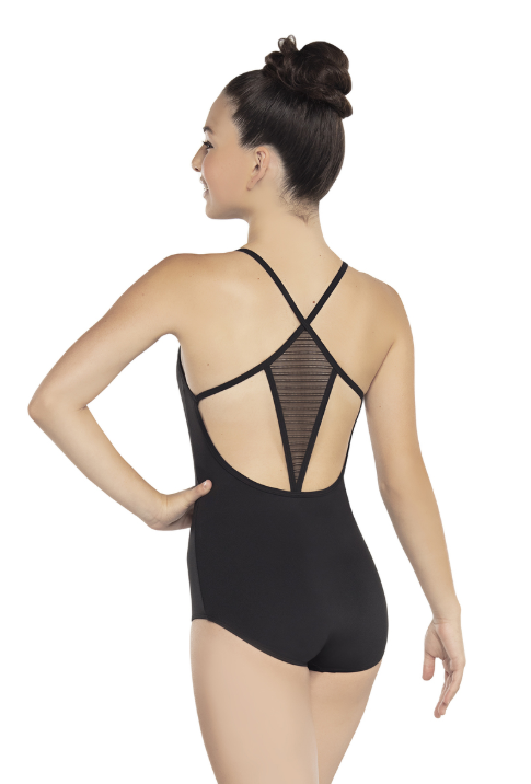 Buy online high quality Revolution Linear Mesh Camisole Leotard - The Movement Boutique - Kelowna