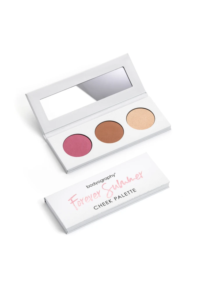 Buy online high quality Bodyography Forever Summer Cheek Palette - The Movement Boutique - Kelowna