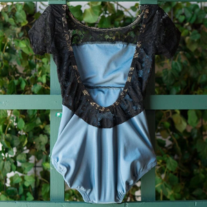 Buy online high quality Lucky Leo - Cinderella & Black Lace Star with Cap Sleeves - The Movement Boutique - Kelowna