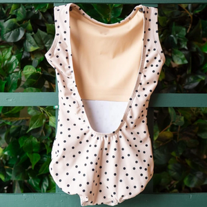 Buy online high quality Lucky Leo - Cream Polka Dot Allure - The Movement Boutique - Kelowna