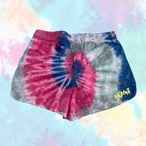 "Buy online high quality The MVMNT - Tie Dye Shorts ""Groove is in the Heart"" (Medium Adult) - The Movement Boutique - Kelowna"