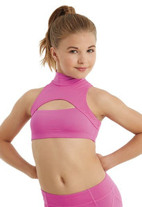 Buy online high quality Balera Mock Neck Keyhole Crop Top - The Movement Boutique - Kelowna