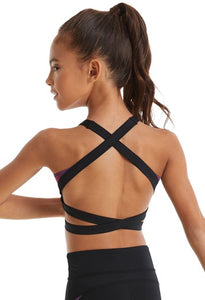 Buy online high quality Balera Ombre Mesh Criss-Cross Bra Top - The Movement Boutique - Kelowna