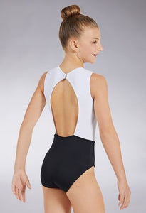 Buy online high quality Balera Colourblock Pinch Front Leotard - The Movement Boutique - Kelowna