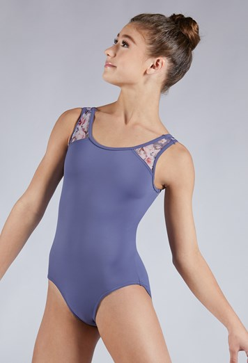 Buy online high quality Balera Floral Mesh Tank Leotard - The Movement Boutique - Kelowna