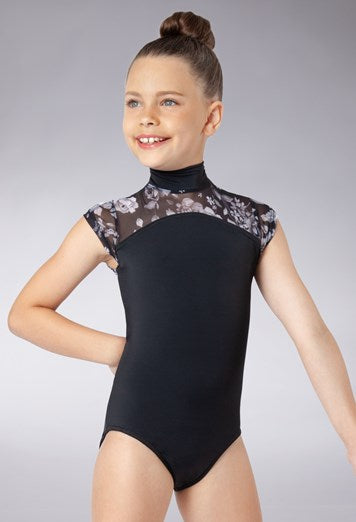 Buy online high quality Balera Floral Mock Neck Leotard - The Movement Boutique - Kelowna