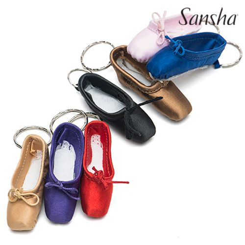 Buy online high quality Sansha Mini Pointe Shoe Key Chain - The Movement Boutique - Kelowna