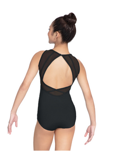 Buy online high quality Revolution Strappy Mesh High Neck Leotard - The Movement Boutique - Kelowna