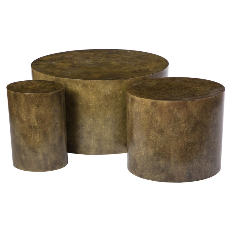 Three Juan Montoya Occasional Tables