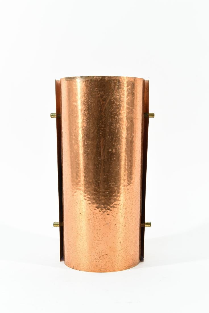 Mid-Century Copper Table Lamp