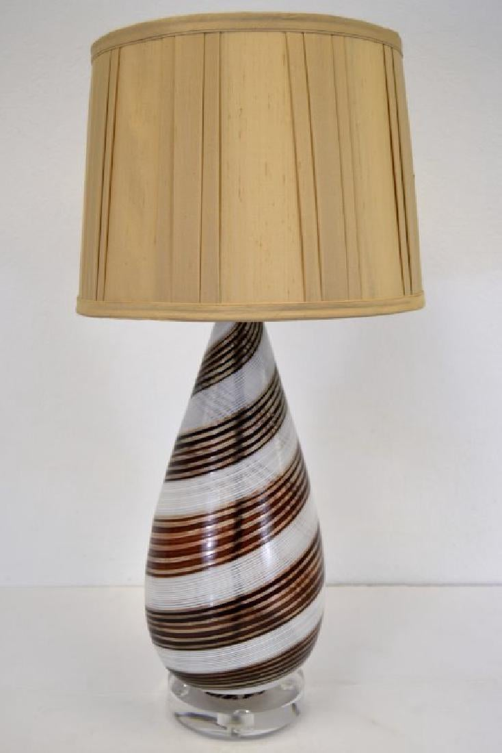 Dino Martens Striped Table Lamp