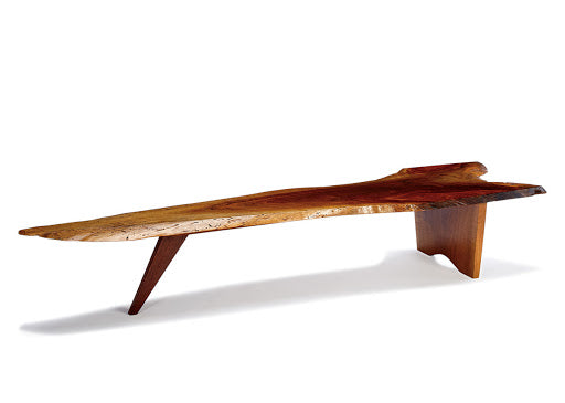 George Nakashima Wood Slab Table -- From the Nakashima Studio